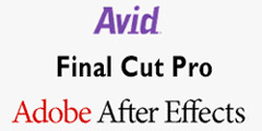 Avid - Final Cut Pro - After Effects